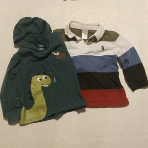 Gymboree 2T babyboy t shirt X 2